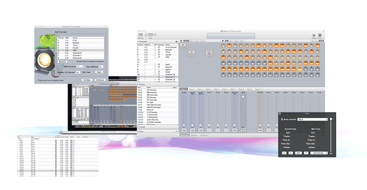 Professional lighting control now on osx chameleon mac